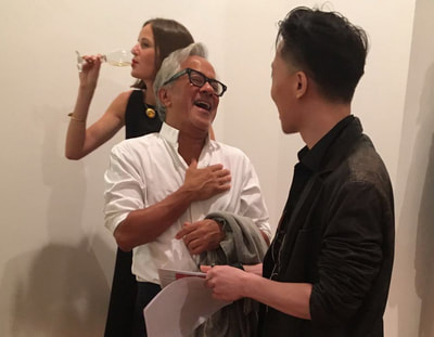 Anish Kapoor and Michael Andrew Law