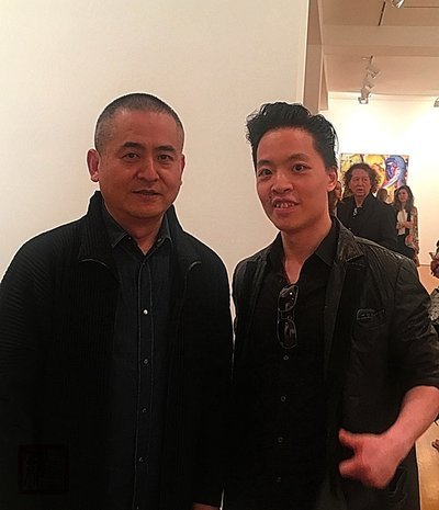 Zeng Fanzhi and Michael ANdrew  Law